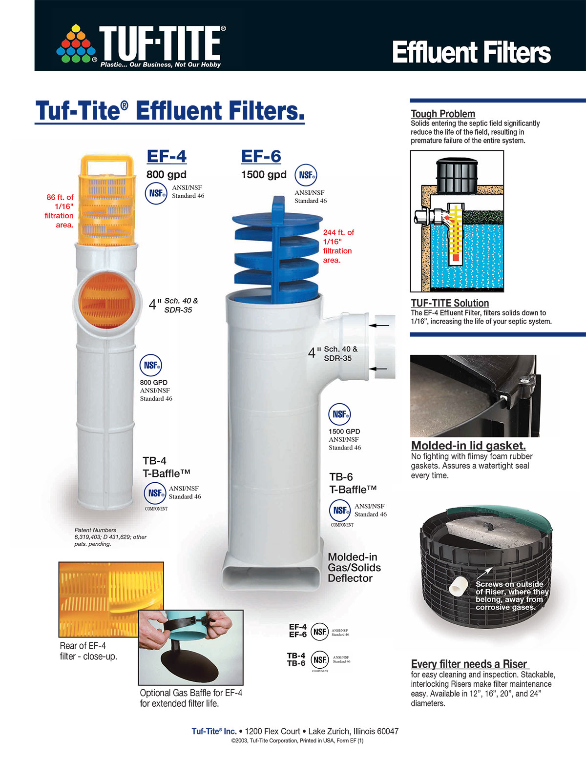 how to clean septic tank filter